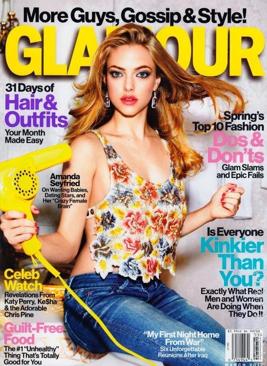 Amanda Seyfried on Glamour