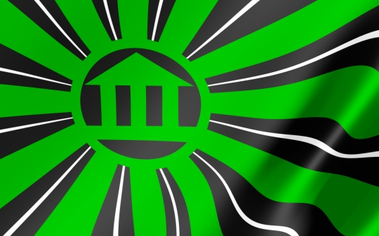 The Halls of Hysteria Flag