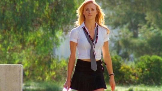 Sarah Walker takes on some nerds in Season 2.