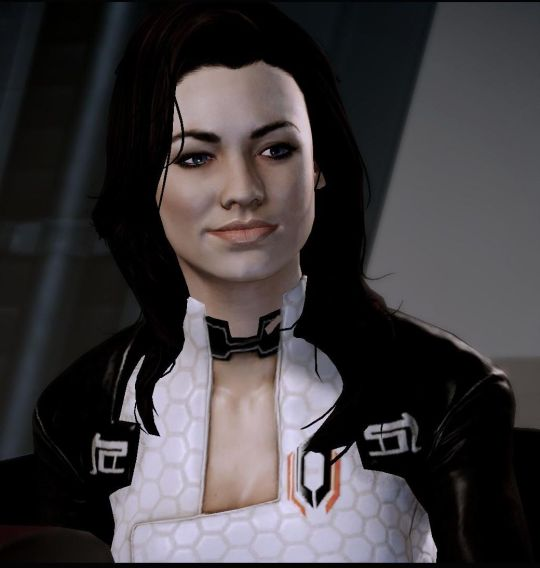 Yvonne as Mass Effect 2's Miranda Lawson