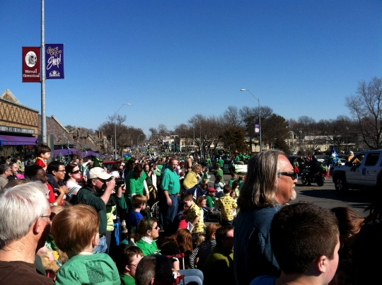 2012 Brookside St. Patrick's Warm-Up Parade