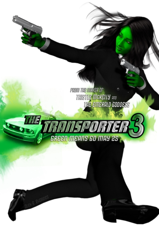The Transporter 3 by Alexander Ryan Rhoades