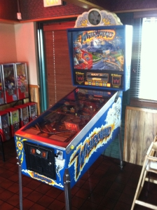 The Whirlwind Pinball Game at Mazzio's Pizza