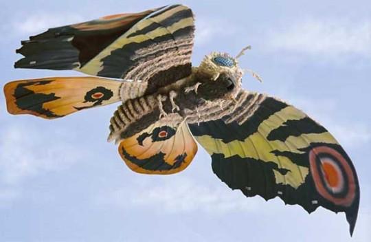 Also Mothra!