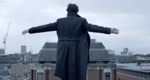 Sherlock Holmes in The Reichenbach Fall
