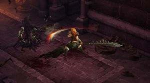 Female Barbarian from Diablo III