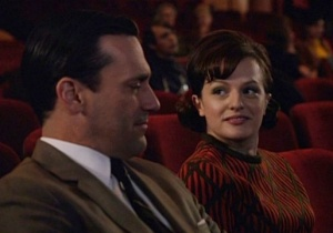 Don Draper and Peggy Olsen