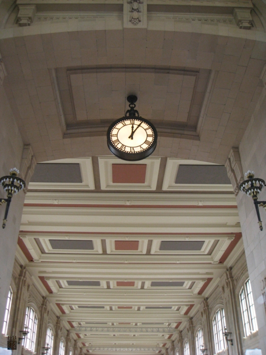 The Clock in Union Station