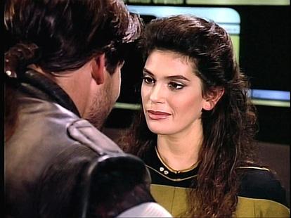 Teri Hatcher on Star Trek: The Next Generation