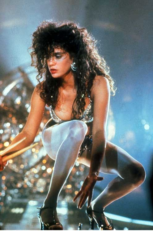 Teri Hatcher goes nuts with a bedazzler.