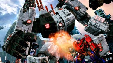 Fall of Cybertron Metroplex