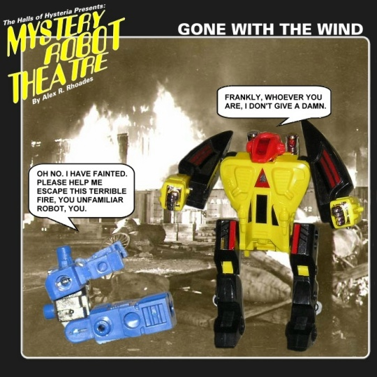 Mystery Robot Theatre #1