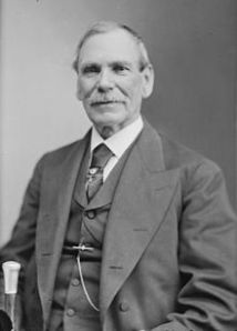 General James Shields as an older man.