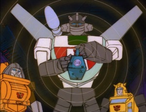 Wheeljack and the Lantern