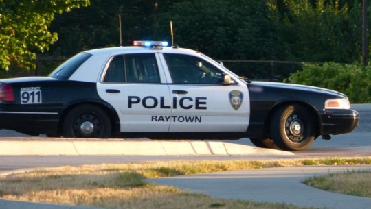 A typical Raytown police car.