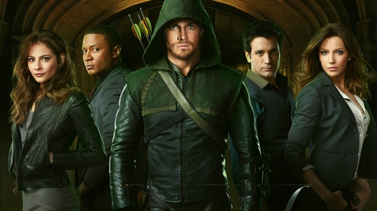 The Cast of CW's Arrow