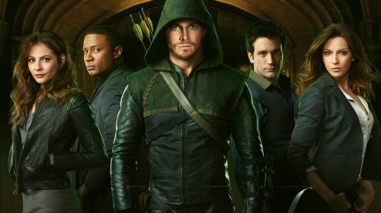 The Cast of CW's Arrow