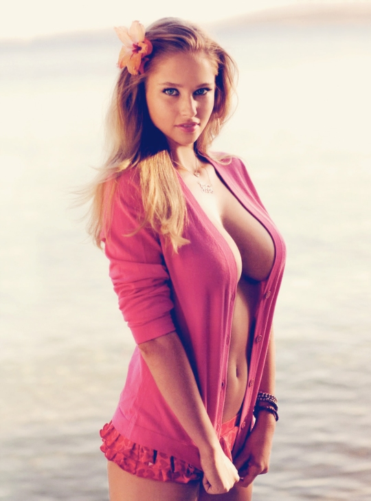 Lovely Blonde in Pink