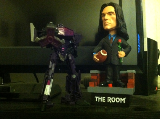 Shockwave & Tommy Wiseau