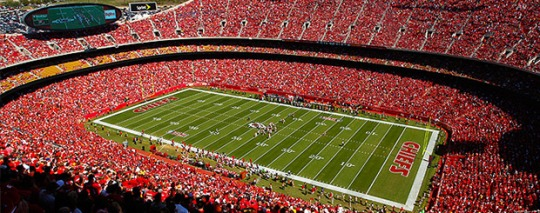 Arrowhead Stadium in Kansas City