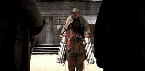Horse Gatling Guns - Jonah He