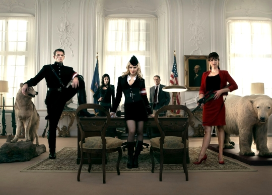 Iron Sky - The Cast