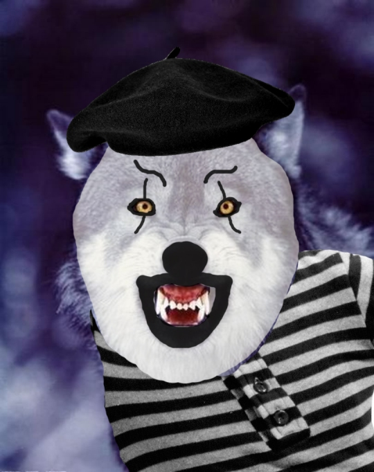 A Deadly Mime Wolf