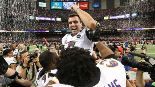 The Ravens Win Super Bowl XLVII