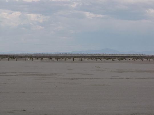 The salt flats are exactly as advertised.